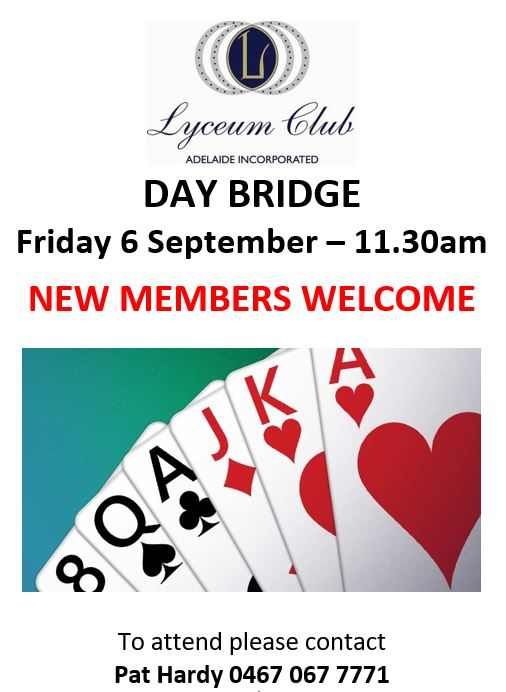 Lyceum DAY BRIDGE 6 SEPT