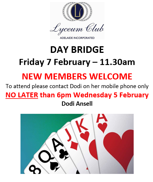 Lyceum FEB 7 Day Bridge