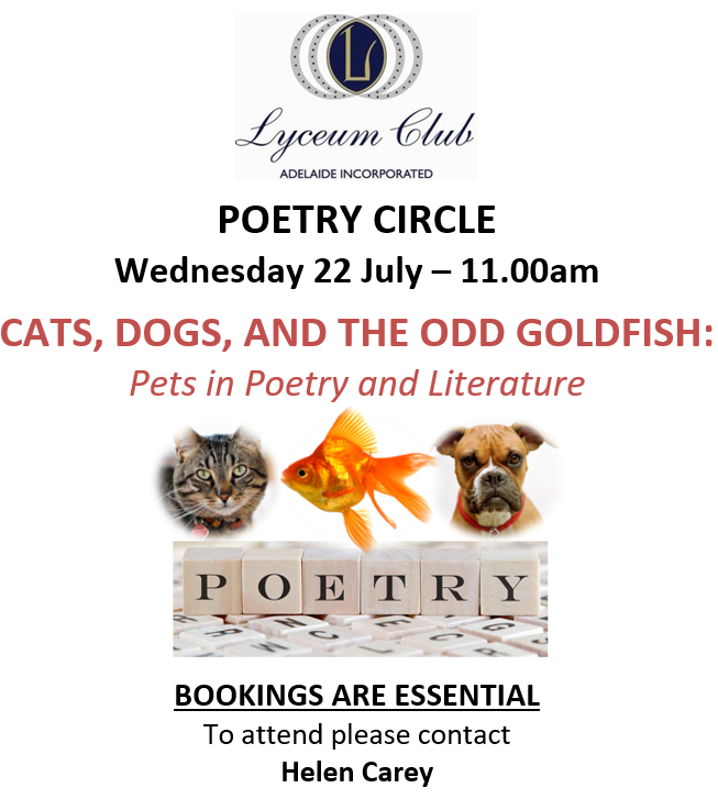 Lyceum JULY Poetry