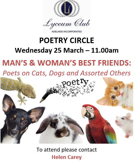 Lyceum MARCH POETRY