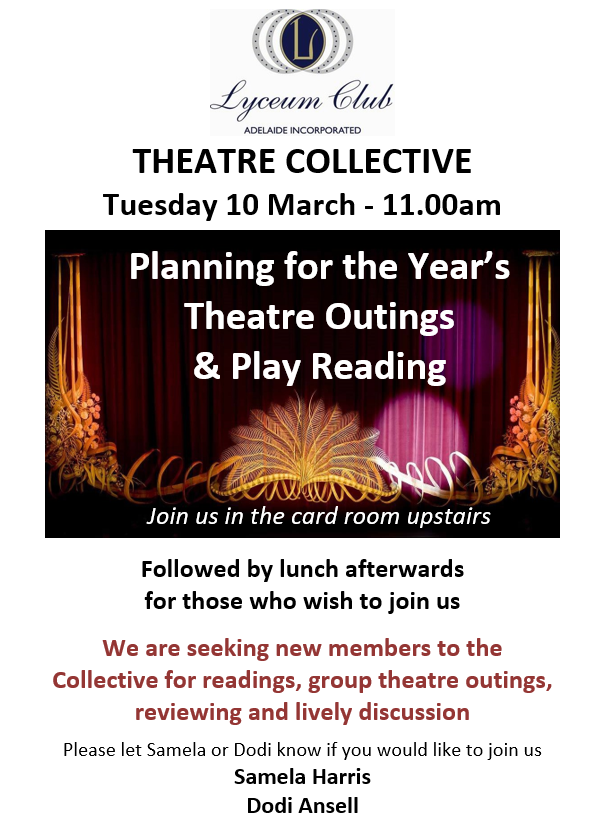 Lyceum MARCH THEATRE COLLECTIVE