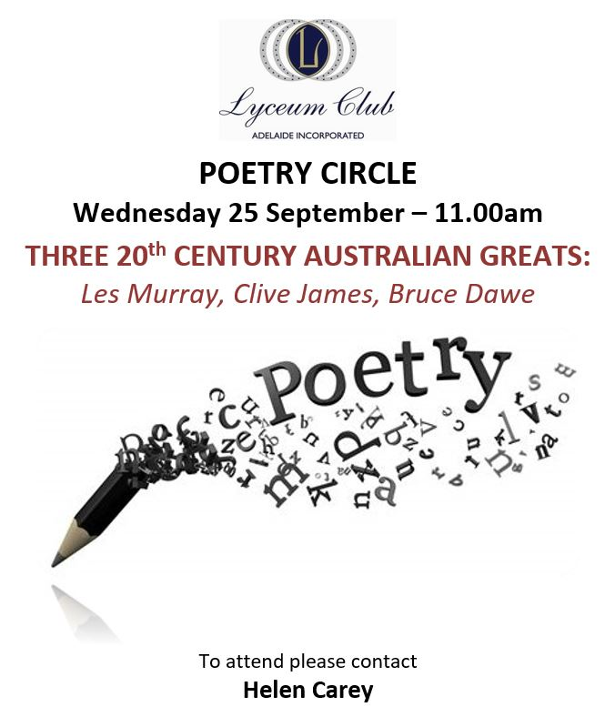 Lyceum POETRY SEPT