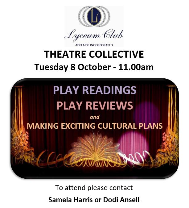 Lyceum THEATRE COLLECTIVE OCT